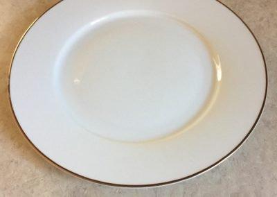 White plates (46 total)